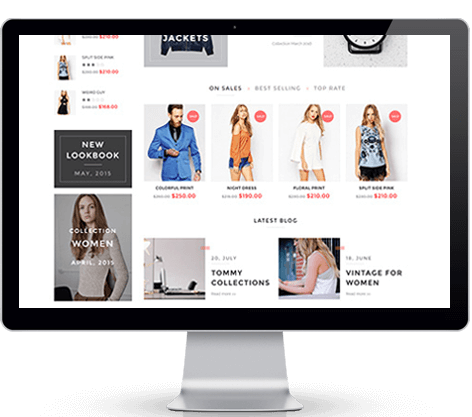 ECommerce website design services in Los Angeles