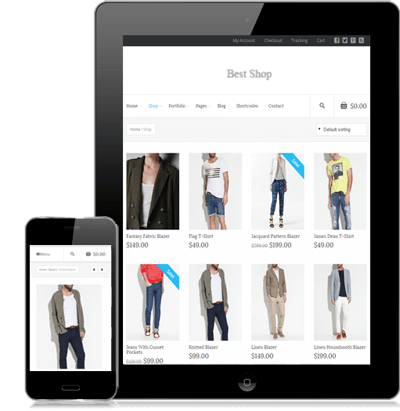 ECommerce mobile website and mCommerce in Los Angeles
